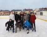 Zajęcia WF na lodowisku