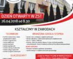 DZIEŃ OTWARTY (26.04.2018r.) ZAPRASZAMY!!!